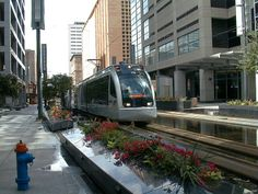 Houston Commuter Train - METRORail is a fast, convenient way to travel to downtown, midtown, the Museum District, Texas Medical Center, Moody Park and up to the Northline Transit Center & Houston Community College.