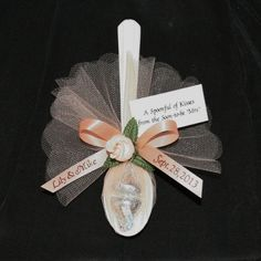 bridal shower favors with kisses | ... of Kisses for Wedding, Rehearsal Dinner, Anniversary or Bridal Shower by lorena