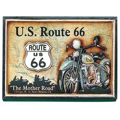Route 66 Wall Art