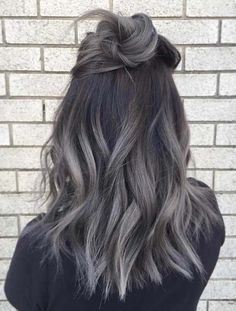 Variations of dark grey ombre hair colors that are becoming more and more popular in these days. In this post we have collected a list of best dark and grey ombre hair colors to provide you some kind of unique hair color ideas in 2018. So visit our page to get the silver and grey hair colors in these for shining look.