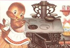 Cute vintage illustration from a children's book.