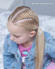Lovely Kids Braided Hair Ideas For 2020 New Trendy Hair Ideas – Page 8 – Best Ideas Every Day Trendy Hairstyles, Braided Hairstyles, Pigtail Braids, Braid Hair, Divas, Girls Hairdos, Mini Diva, Lace Braid, Braids For Kids