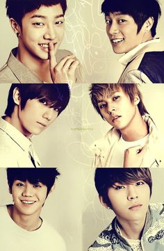 B2ST #K-pop They are all just so beautiful!!