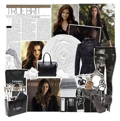 Young Meghan Hale || Teen Wolf by x-jen-cozy-wolves-x on Polyvore featuring polyvore fashion style Barbour Forever 21 Alexander McQueen Sephora Collection WALL Urbanears Chanel Polaroid clothing TeenWolf meghancollins