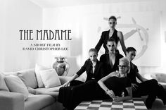Cover Image for a short film called the Madame directed by David Christopher Lee - Key wardrobe is featured and designed by Lloyd Klein