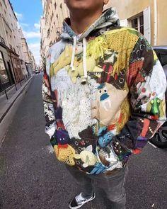 5b3ffc8b5a5d FW18 Sup Mike Kelley Hooded Sweatshirt