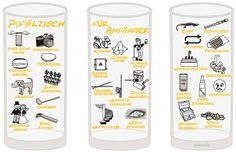 Pfälzisch für Anfänger VII - VIII Schoppenglas 0,5 l