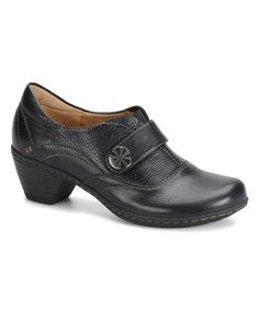 Look what I found on #zulily! Black Sparrow Leather Shoe by Softspots #zulilyfinds