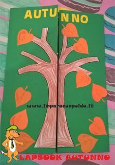 A Scuola con Poldo: Lapbook sull'autunno Activities For Girls, English Activities, Fall Crafts, Diy And Crafts, Crafts For Kids, 4 H Clover, Montessori Activities, Teaching History, Science For Kids