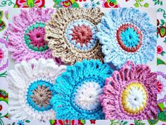 Looking for your next project? You're going to love FREE- Delicate Flowers Crochet Pattern  by designer Wonderful Hands.