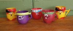 Vintage Pillsbury Funny Faces Mugs-5