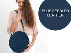 Your place to buy and sell all things handmade Leather Handbags, Leather Bag, Crossbody Bag, Tote Bag, Beautiful Handbags, Business Outfits, Blue Bags, My Bags, Pebbled Leather