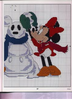 Mickey Collection~pg 87 Snow Mouse 2