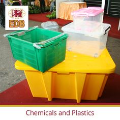 The chemical and plastic industry in Sri Lanka produces a range of raw chemical and plastic material and finished products for local and global markets Plastic Industry, Plastic Products, Plastic Material, Plastic Storage, Storage Solutions, Agriculture, Industrial, Food, Shed Storage Solutions