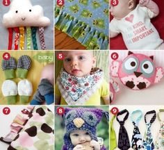 A Handmade Christmas: DIY Baby Gifts