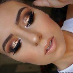 Thanksgiving Bright Glow Eye Makeup