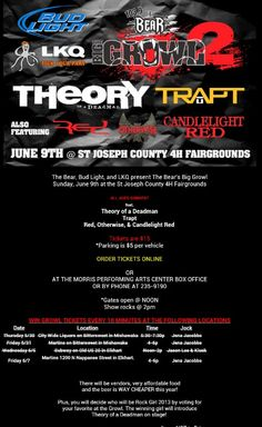 So excited I get to be apart of this, and am so excited to meet Theory of A Deadman :)