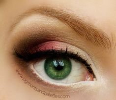 cranberry smokey eye. LOVE