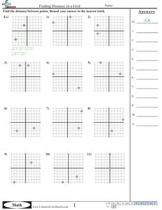 Grid Worksheets - Finding Distance on a Grid worksheet Grid Puzzles, Map Activities, Math Worksheets, Cool Photos, Things To Come, Printables, Pictures, Free, Photos