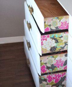 20 Genius DIY Uses For Leftover Wallpaper Scraps - mom.me