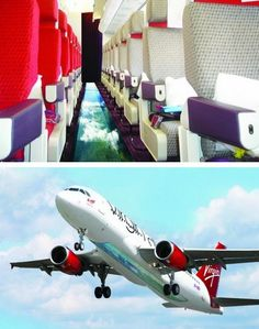 Virgin Airlines Launches the First Glass-Bottomed Plane