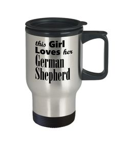 German Shepherd - Travel Mug