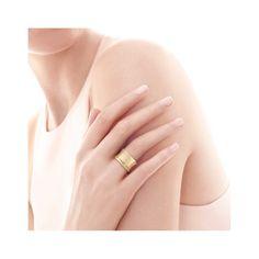 4cbfc0afbd6 Tiffany 1837® wide ring in 18k gold. Tiffany Novo