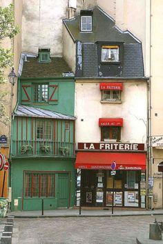 La Friterie, Quartier Latin, Paris, France