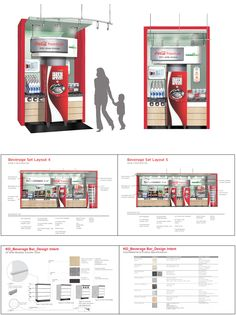 Coca-Cola Beverage Bars for large format stores.