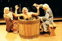 Bath time in the Caucasian Chalk Circle