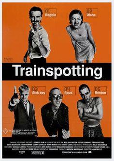 Trainspotting film poster