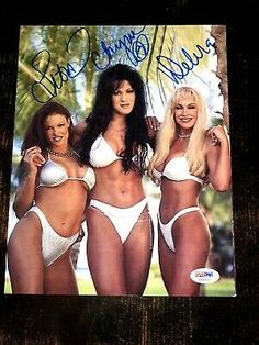 Ad(eBay Link) Chyna Lita & Debra Signed 8x10 Photo PSA/DNA COA LOA Sexy Rare WWE Autograph Wrestling Superstars, Wrestling Divas, Wwf Poster, Wwe Lita, Wwe Trish, Wwe Divas Paige, Wwe Sasha Banks, Wwe Female Wrestlers, Wwe Girls