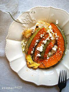Cucina Ghiotta: Zucca parte seconda. Arrosto in forno.