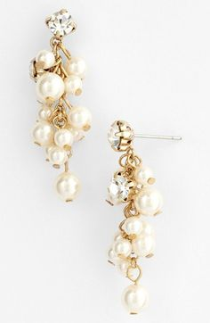 #Nina                     #Jewelry                  #Nina #'Aisley' #Faux #Pearl #Drop #Earrings        Nina 'Aisley' Faux Pearl Drop Earrings                                        http://www.snaproduct.com/product.aspx?PID=5414467