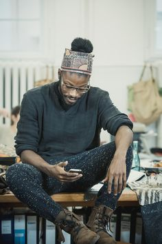 theloveapp:  Jesse Boykins III. at Liebeskind HQ in Berlin