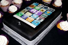 iPhone Cake by Whippt Desserts & Catering Iphone Cake, Craft Wedding, Grooms, Macarons, Catering, Sculpting, Wedding Cakes, Desserts, Crafts