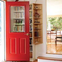 Red Glass Door