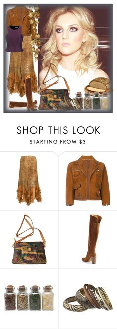 """""""Halston"""" by bren-johnson ❤ liked on Polyvore featuring Emanuel Ungaro, Dsquared2, Dolce Vita and Halston Heritage"""