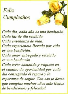 Happy Birthday Quotes In Spanish Frases Ideas Happy Birthday Wishes Cards, Happy Birthday Celebration, Birthday Poems, Birthday Wishes Quotes, Happy Wishes, Birthday Greetings, Happy Birthday In Spanish, Happy Birthday Pictures, Birthday Images