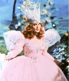 Glenda the Good Witch. Come out, come out wherever you are and meet the young lady who fell from a star!