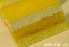Fotorecept: Jarné sanquickové rezy so šľahačkovým tvarohom