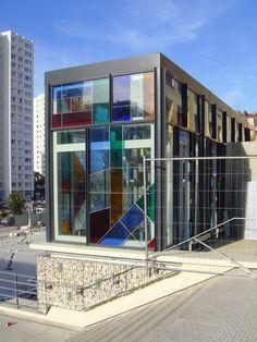 leaded glass panels