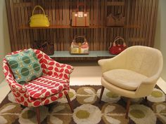 Orla Kiely chairs