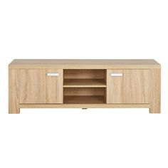 The Havana entertainment unit at 1.4m has plenty of clever storage with a 2 level open shelf, perfect for media players, and 2 generous cupboards, great for hiding away all your DVDs and gaming consoles.