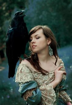 ♥Wherever crows are, there is magic. They are symbols of creation and spiritual strength. They remind us to look for opportunities to create and manifest the magic of life. They are messengers calling to us about the creation and magic that is alive within our world everyday and available to us. |Ted Andrews