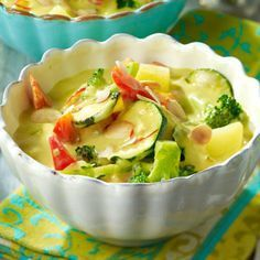 Gemüse-Curry mit Kokosmilch Rezept