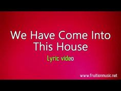 We Have Come Into This House (Low Key) [Instrumental with Lyrics] Instrumental, Low Key, Lyrics, Songs, Itunes, Youtube, Blood, House, Medium