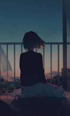 Alone Girl Artwork Iphone Plus, Pixel xl ,One Plus . Sad Wallpaper, Anime Scenery Wallpaper, Cartoon Wallpaper, Anime Girl Triste, Art Anime Fille, Sad Anime Girl, Anime Art Girl, Sad Girl Art, Manga Girl