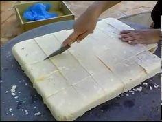 Sabão  Caseiro  (Como bater o sabão caseiro usando uma furadeira)