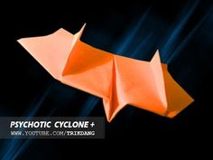 How to make a paper airplane that Flies - BEST BOOMERANG paper planes   Psychotic Cyclone [HD] - YouTube
